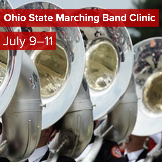 Picture of Ohio State Marching Band Summer Clinic 2021